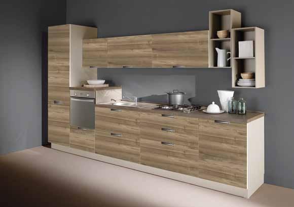 Netcucine Cucina Lineare In Stile Moderno Con Elettrodomestici Inclusi Cod 12 Spedizione