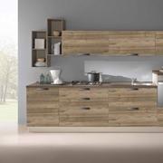 Cucina lineare in stile moderno con elettrodomestici Beko inclusi