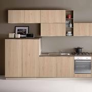 Cucina moderna lineare con elettrodomestici inclusi in promozione