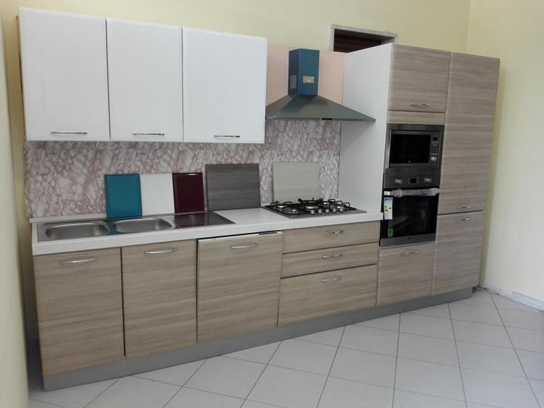 NetCucine - Cucina moderna lineare con elettrodomestici inclusi ...