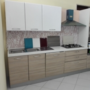 NetCucine - Cucina moderna lineare con elettrodomestici inclusi cod. 06
