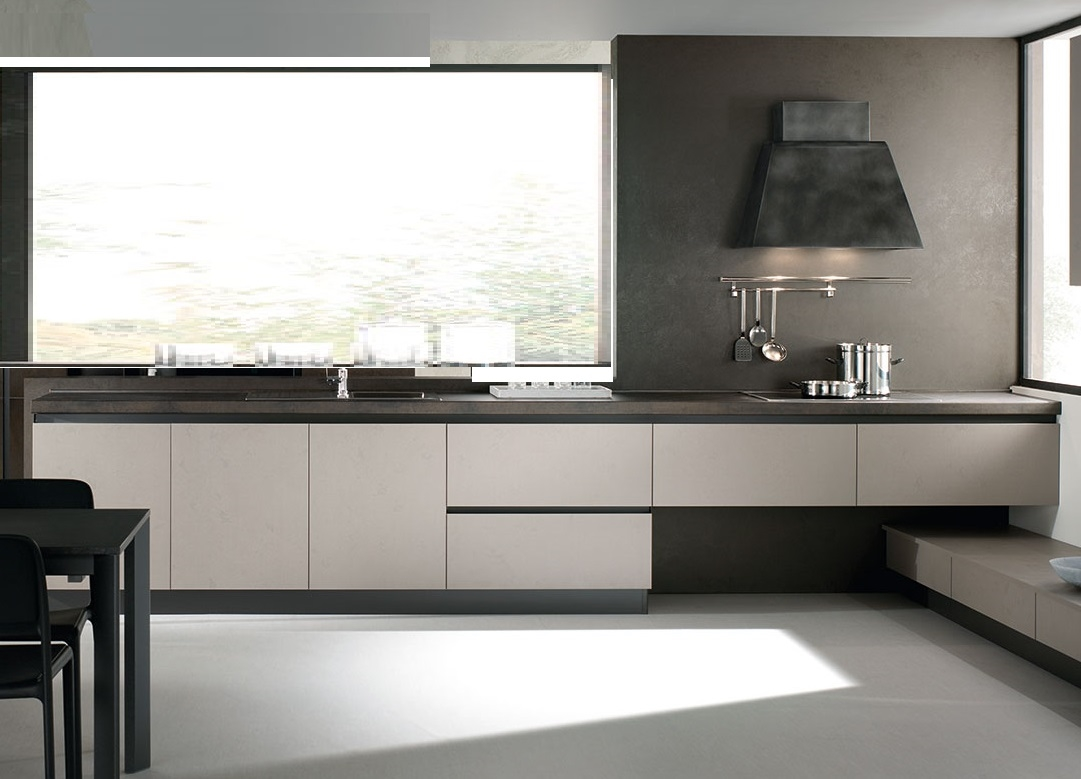 Nuovi mondi cucine cucina cucina design industrial effetto for Cucine design
