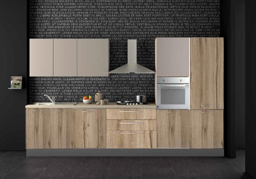 Nuovi mondi cucine cucina cucina industrial vintage lineare in offerta completa nuovimondi - Cucine industrial vintage ...