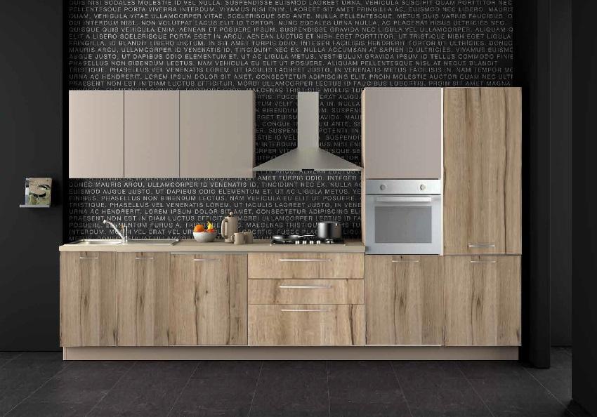 Nuovi mondi cucine cucina cucina industrial vintage for Cucina completa offerta
