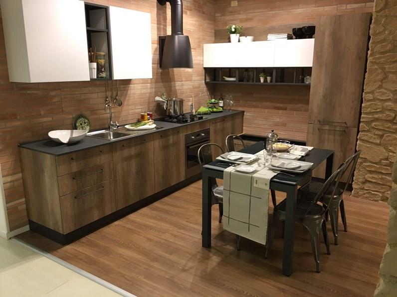 Cucina industriale ad angolo in offerta nuovimondi cucine for Cucine di marca in offerta