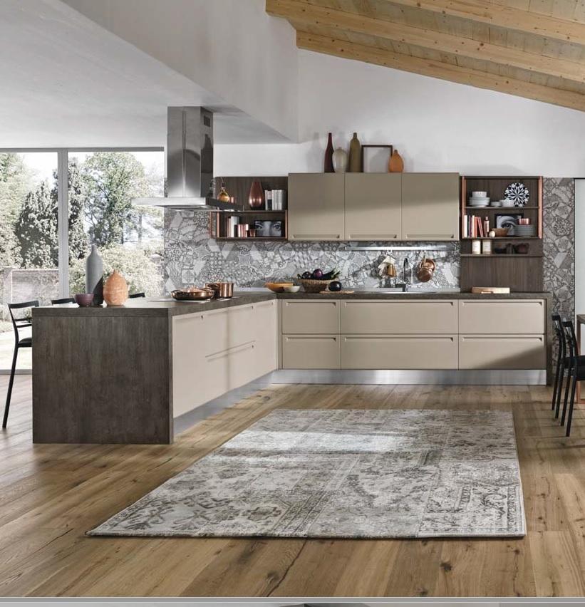 Nuovi mondi cucine cucina cucina moderna con penisola in - Cucine moderne in offerta ...