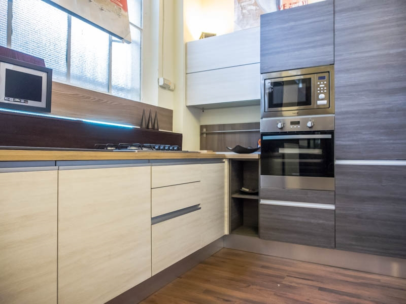 Nuovi mondi cucine cucina cucina moderna gola etno glam - Cucina angolo moderna ...