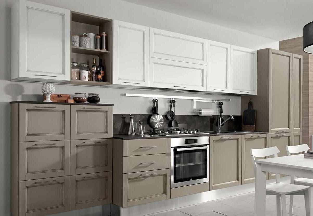 Nuovi mondi cucine cucina cucina shabby winter vintage in - Cucina componibile prezzi ...