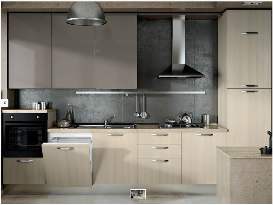 cucina moderna bicolore ~ ispirazione design casa - Cucine Moderne Bicolore
