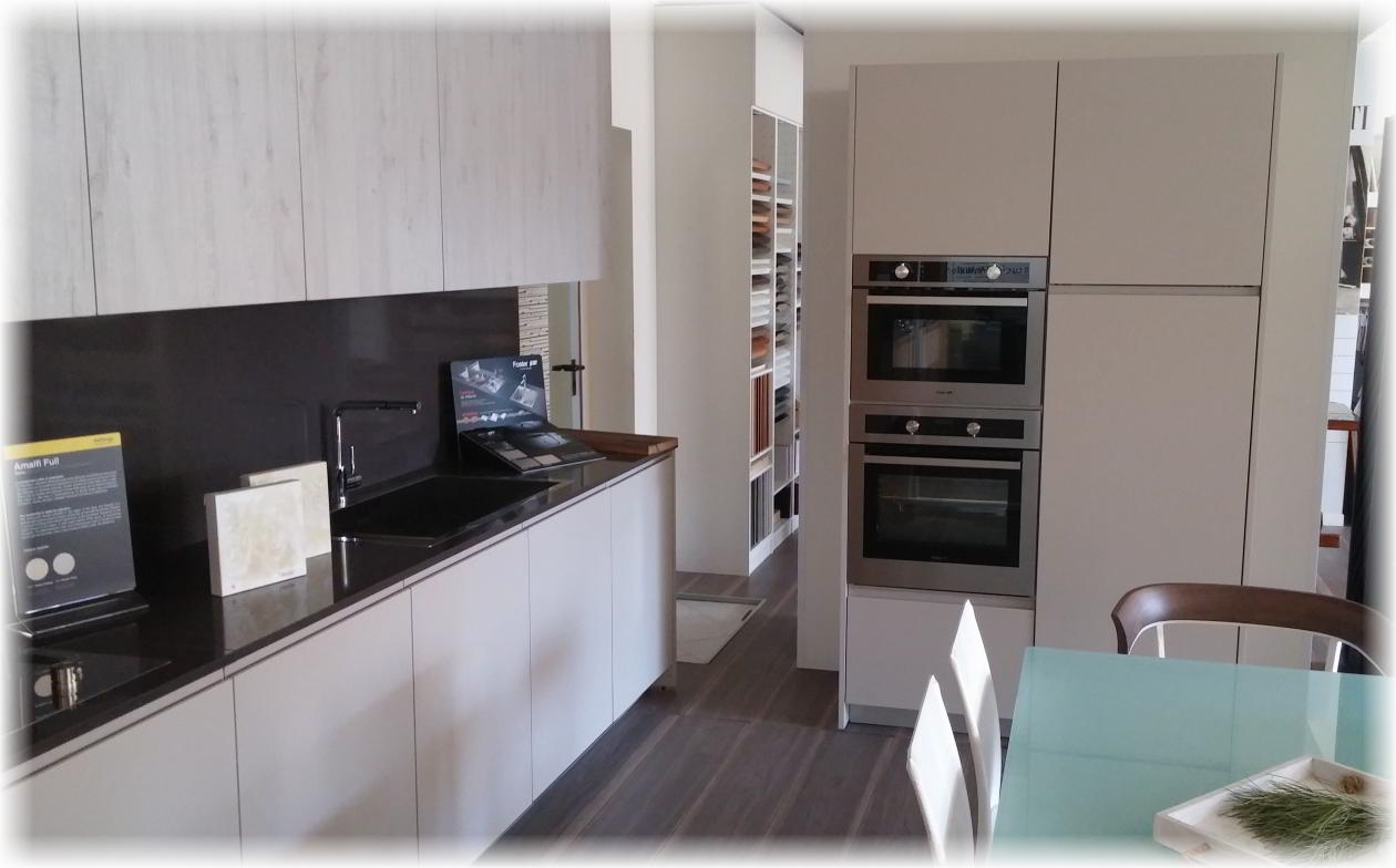 Vetrinette moderne a parete for Cucine per monolocali