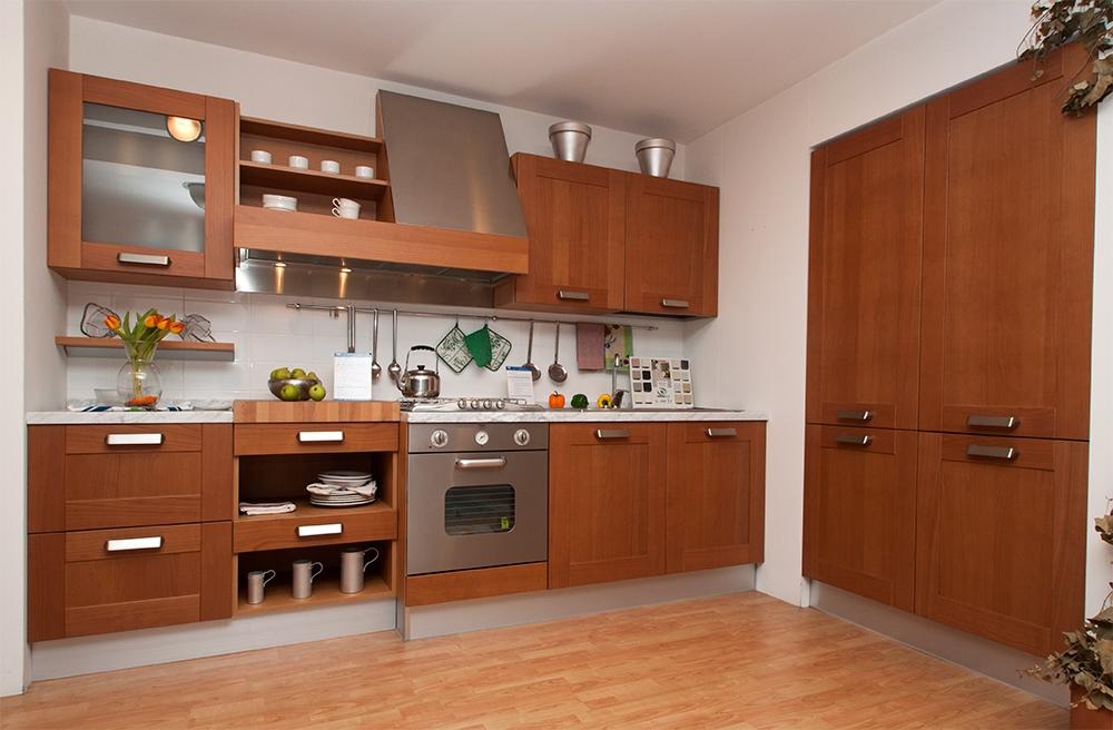 Ged cucina naturasia in legno sottocosto cucine a prezzi for Cucine sottocosto