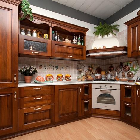 Cucina in legno sottocosto cucine a prezzi scontati for Cucine sottocosto