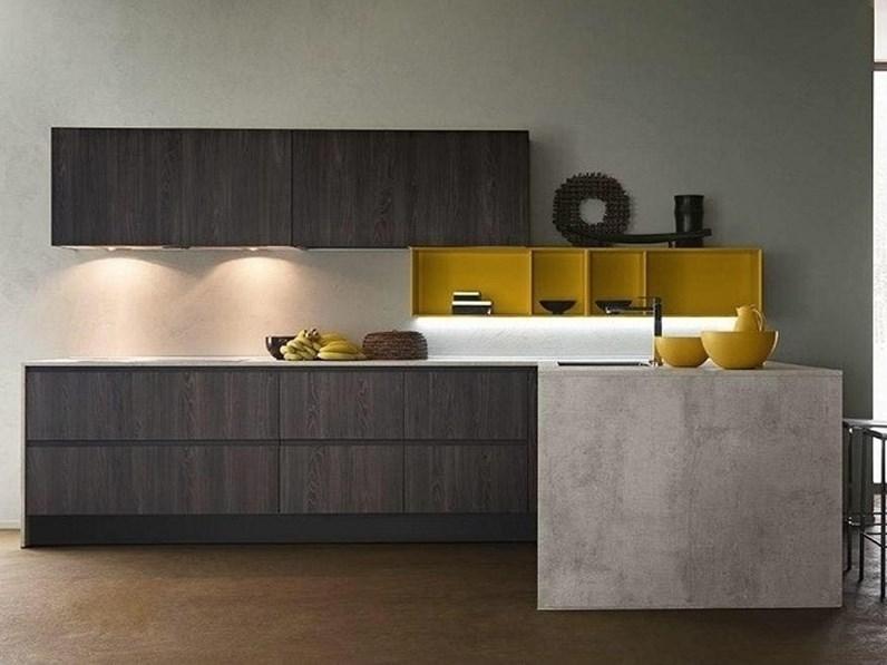 Bancone In Cucina.Offerta Cucina Ad Angolo Con Bancone Linea Di Cucine Store 340x215cm