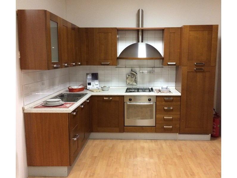 OFFERTA cucina ad angolo GAIA di CUCINE STORE (290X190CM)