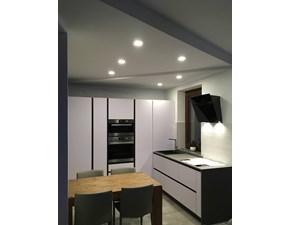 OFFERTA Cucina ad angolo IN MATERIALE FENIX ASTRA CUCINE SP22  275x260 cm