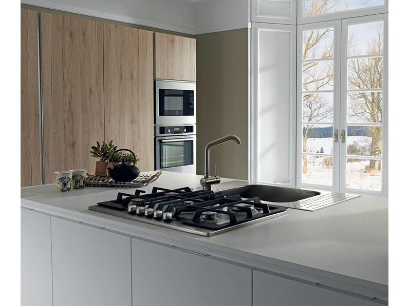 Offerta cucina ad isola mod vintage di cucinestore 240cm for Cucina isola offerta