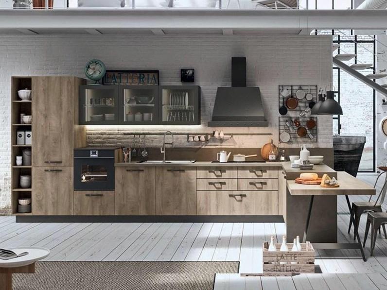 Bancone In Cucina.Offerta Cucina Con Penisola E Bancone Cucine Store Misura 455x300cm