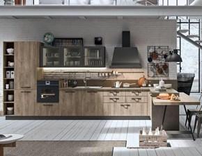 OFFERTA cucina con penisola e bancone CUCINE STORE (Misura 455x300cm)