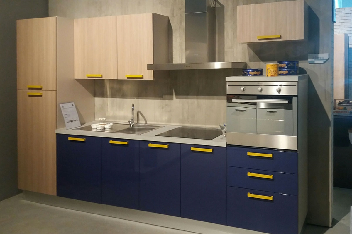 Cucina blu cobalto hi37 regardsdefemmes for Cucine componibili colorate