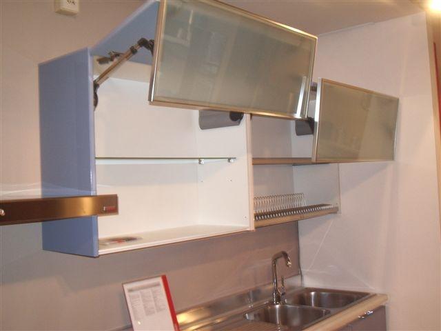 Cucina scavolini flirt moderna laccato lucido azzurro - Ante per cucina laccate prezzi ...