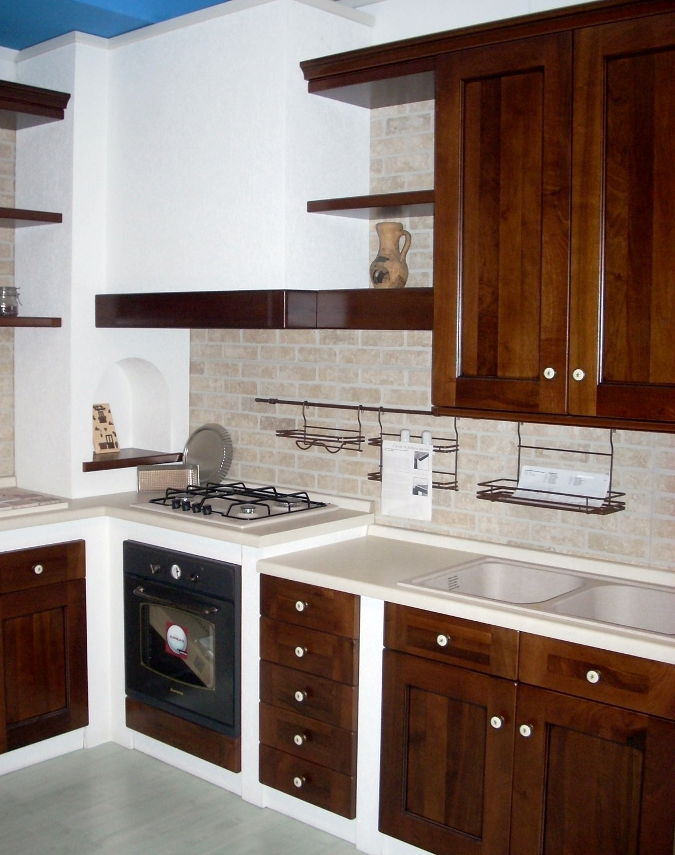 Cucina In Muratura Bianca E Blu: Cucina zappalorto in offerta 9173 ...