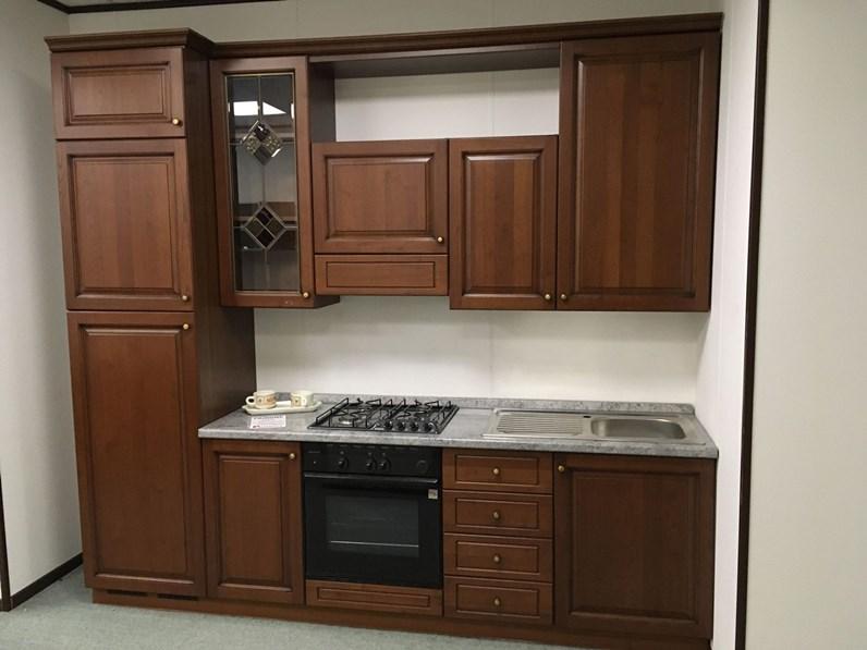 Offerta cucina lineare 270cm cucine store legno rovere for Cucina lineare offerta