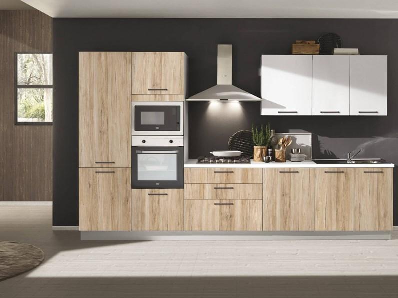 Offerta cucina lineare cucine store cori misura 360cm for Cucine piccole prezzi