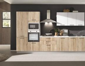 OFFERTA Cucina lineare CUCINE STORE CORI misura 360cm completa di elettrodomestici