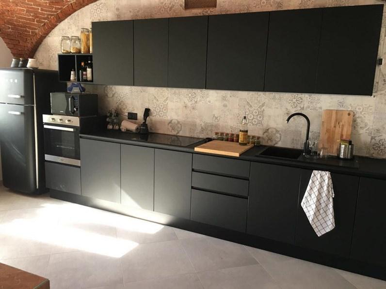 Offerta Cucina Lineare Fenix Cucine Store Misura 420cm