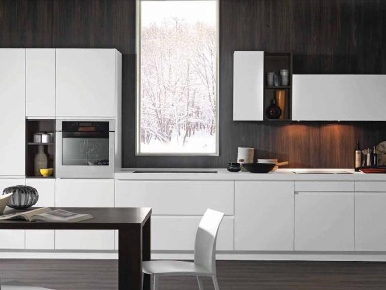 OFFERTA cucina lineare mod LINEA di CUCINESTORE (Misura 450cm)