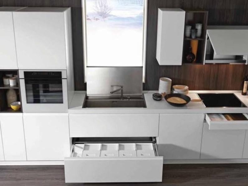 Offerta Cucina Lineare Mod Linea Di Cucinestore Misura 450cm