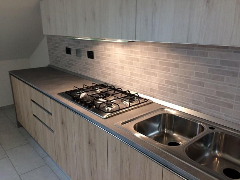 Cucine Lineari Moderne Offerte.Offerta Cucina Lineare Vintage Cucine Store Misura 330cm