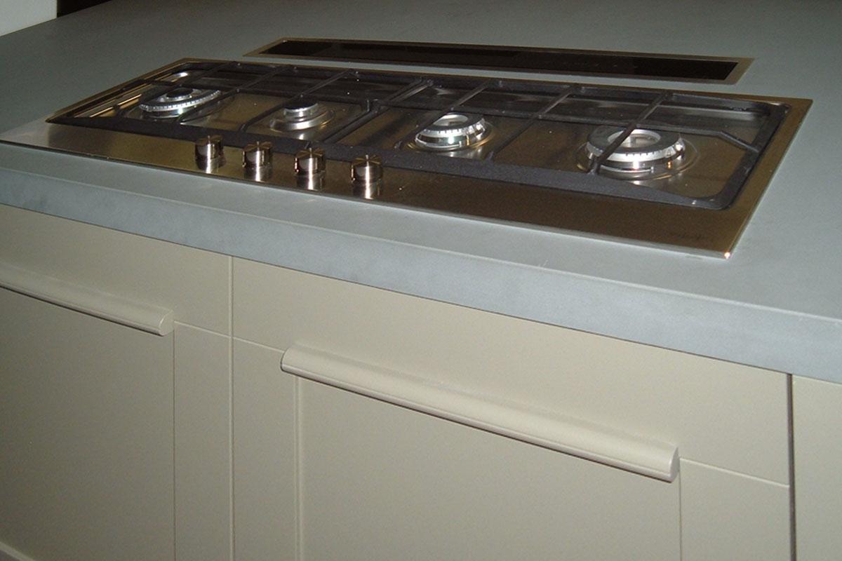 Offerta Cucina Lube Gallery Impiallacciato Rovere Naturale E Laccato  #595142 1200 800 Piano Di Lavoro Cucina Bricoman