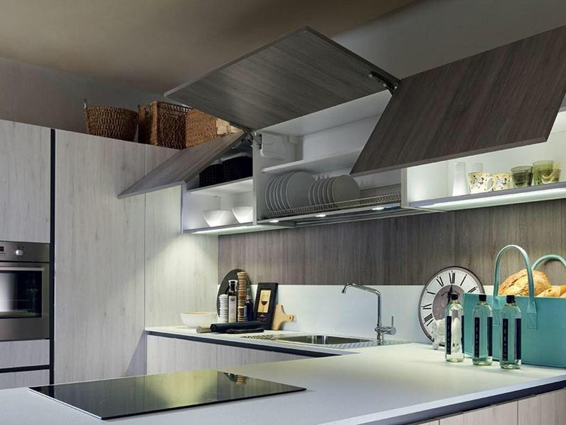 Offerta cucina mod vintage di cucine store con penisola for Cucine di marca in offerta