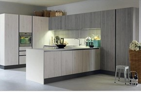 OFFERTA cucina mod VINTAGE di CUCINE STORE CON PENISOLA (250X430cm)