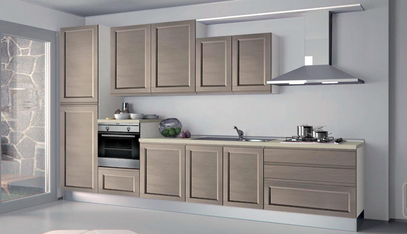 Cucina Contemporanea Frassino ~ Idea Creativa Della Casa e Dell ...