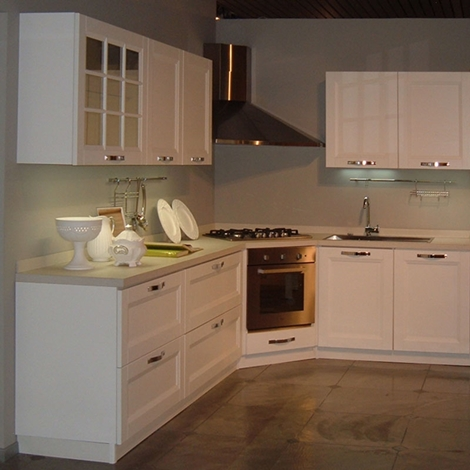 Offerta cucina stosa beverly impiallacciato biancospino - Cucina stosa beverly ...