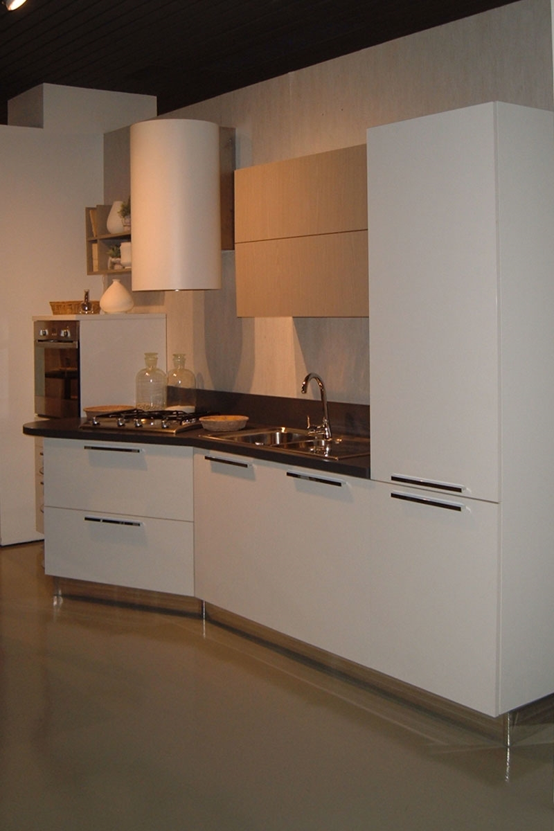 Offerta cucina stosa milly laminato bianco gesso e - Anta cucina laminato ...