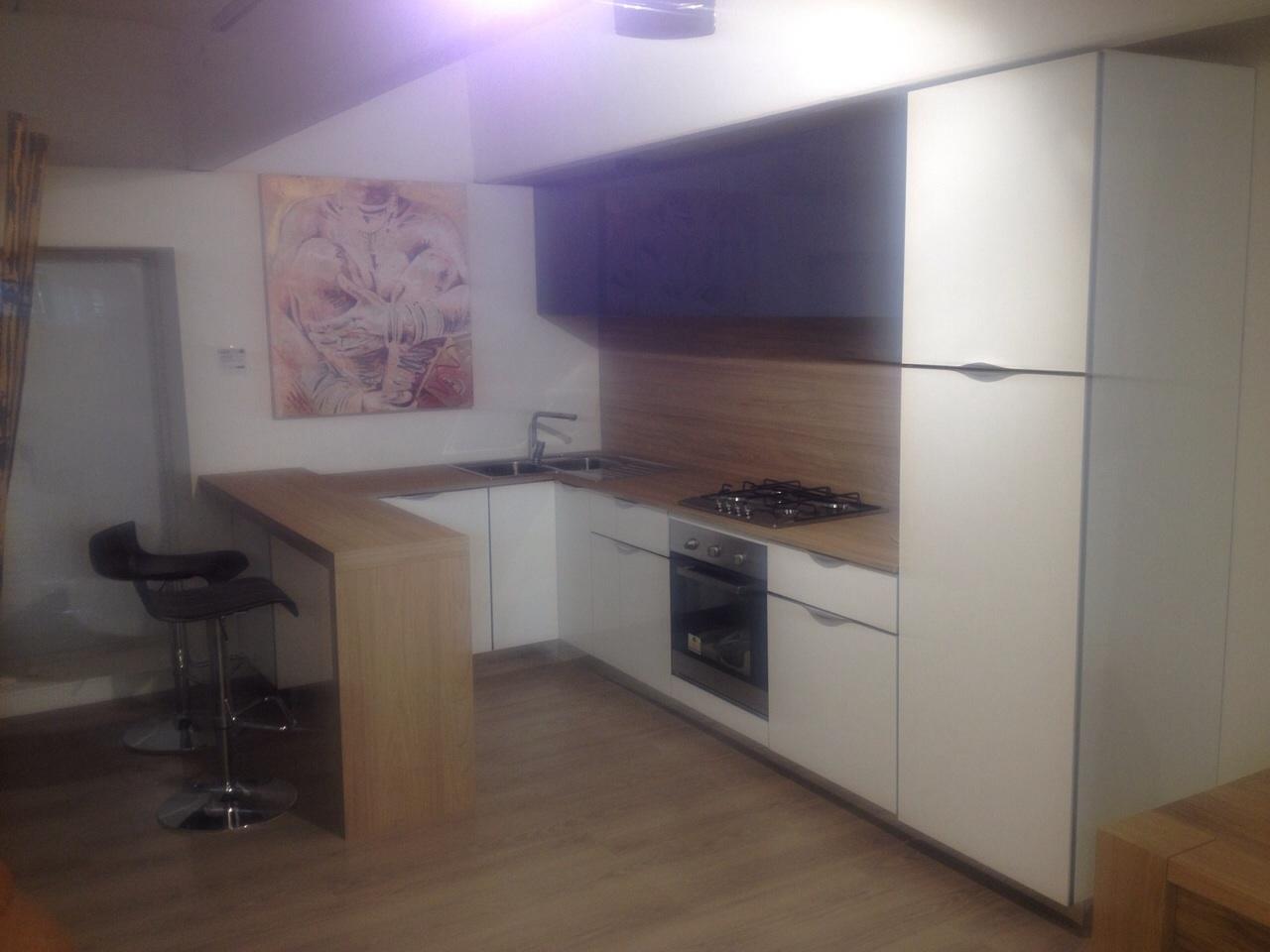 Super offerta cucina stosa modello aleve colore bianco e - Cucina in offerta ...