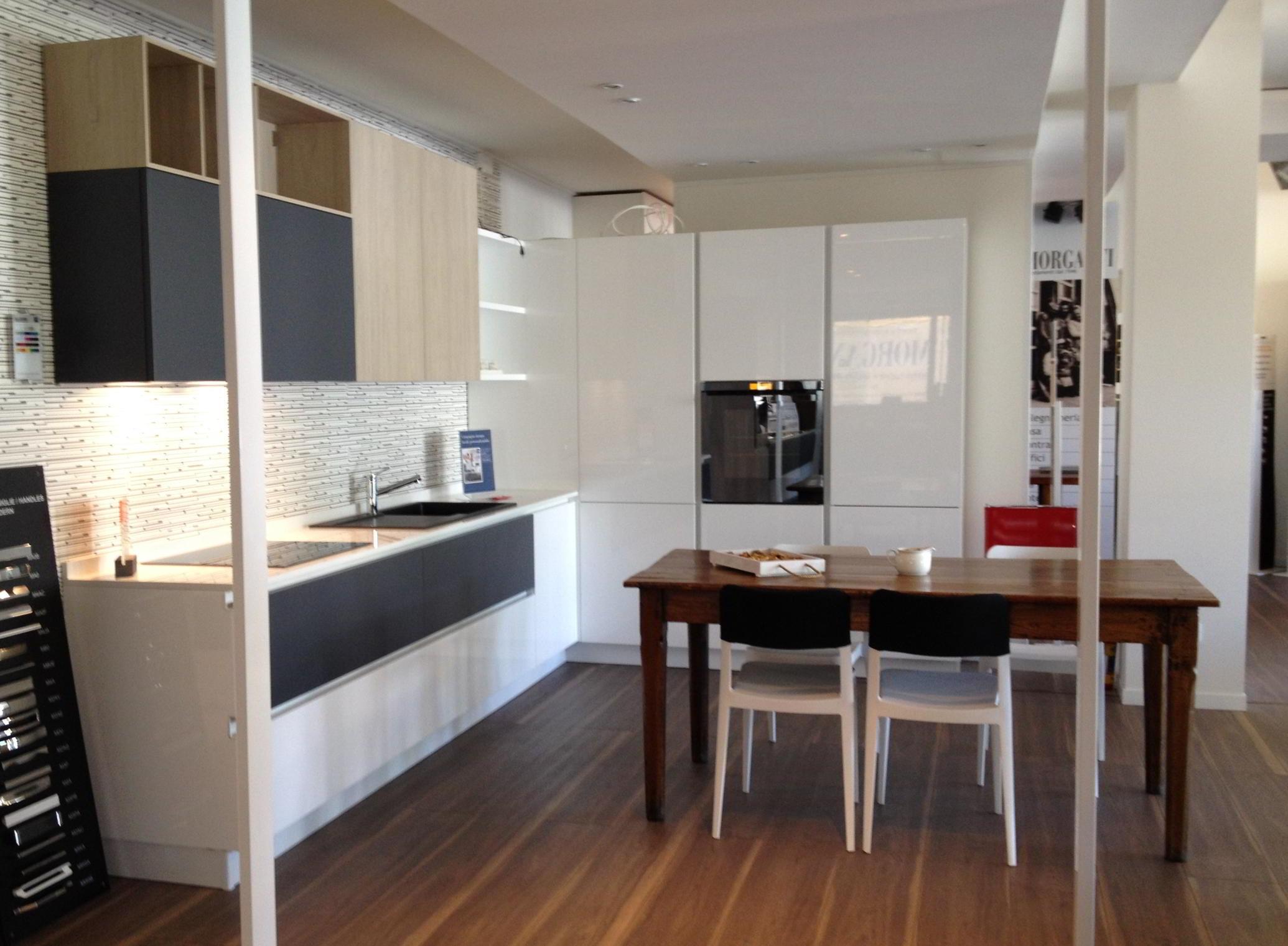 Offerta cucina stosa modello allegra laccato bianco lucido cucine a prezzi scontati - Cucina laccato bianco ...