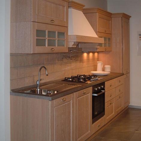 Offerta cucina stosa ontario legno impiallacciato rovere sbiancato cucine a prezzi scontati - Rovere sbiancato cucina ...