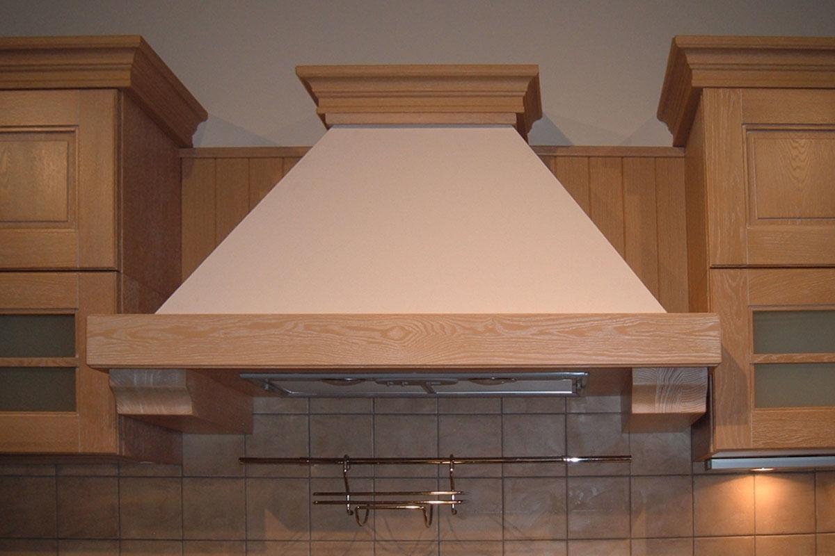 Offerta cucina stosa ontario legno impiallacciato rovere for Decorazioni per cappe da cucina