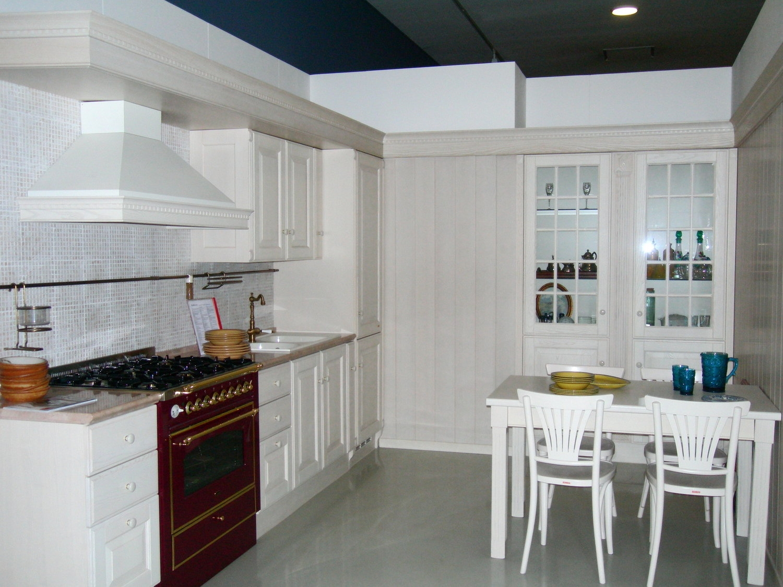 Offerta scavolini baltimora 10791 cucine a prezzi scontati - Cucina provenzale bianca ...