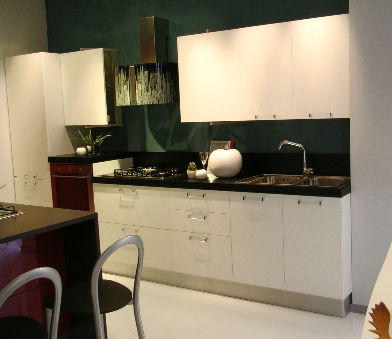 Cucina Bianca E Top Nero.Cucine Top Nero Foto Piani Di Cucina In Marmo E Pietra