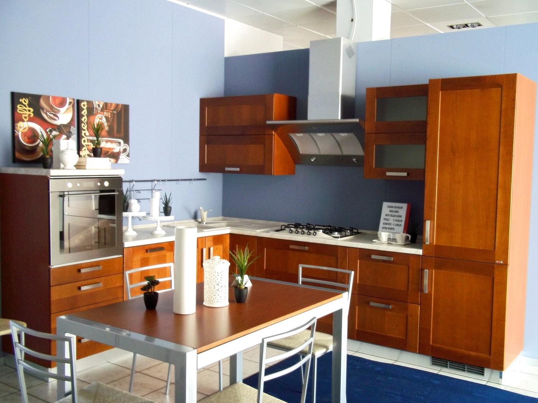 Offerta scavolini carol legno 4518 cucine a prezzi scontati - Colore pareti cucina legno ...