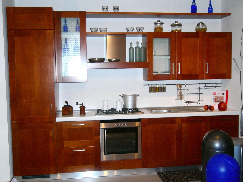 Offerta scavolini carol legno 4566 cucine a prezzi scontati for Cucine in ciliegio