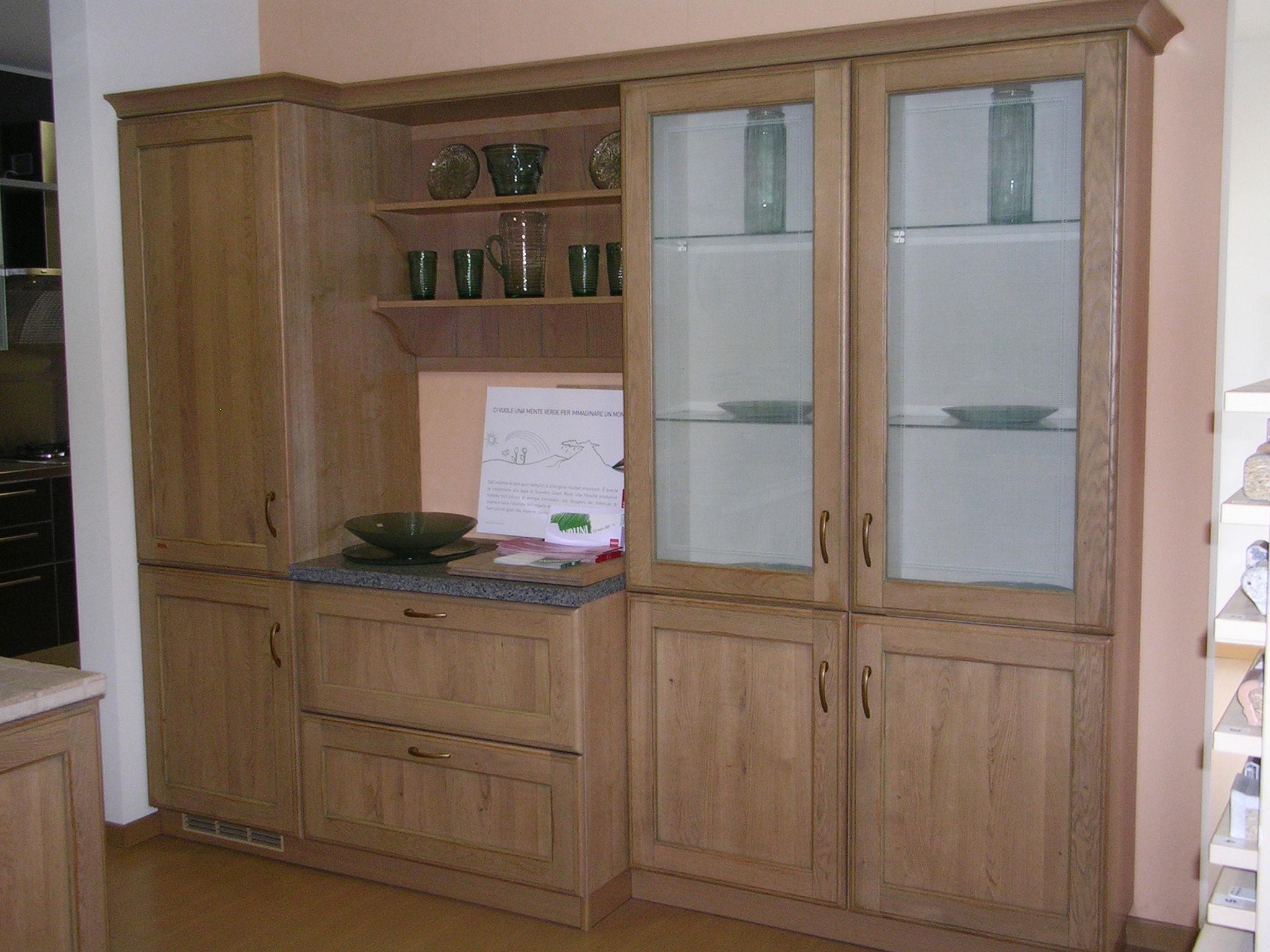 Soggiorni In Legno Chiaro: Cucina eden moderna legno rovere chiaro ...