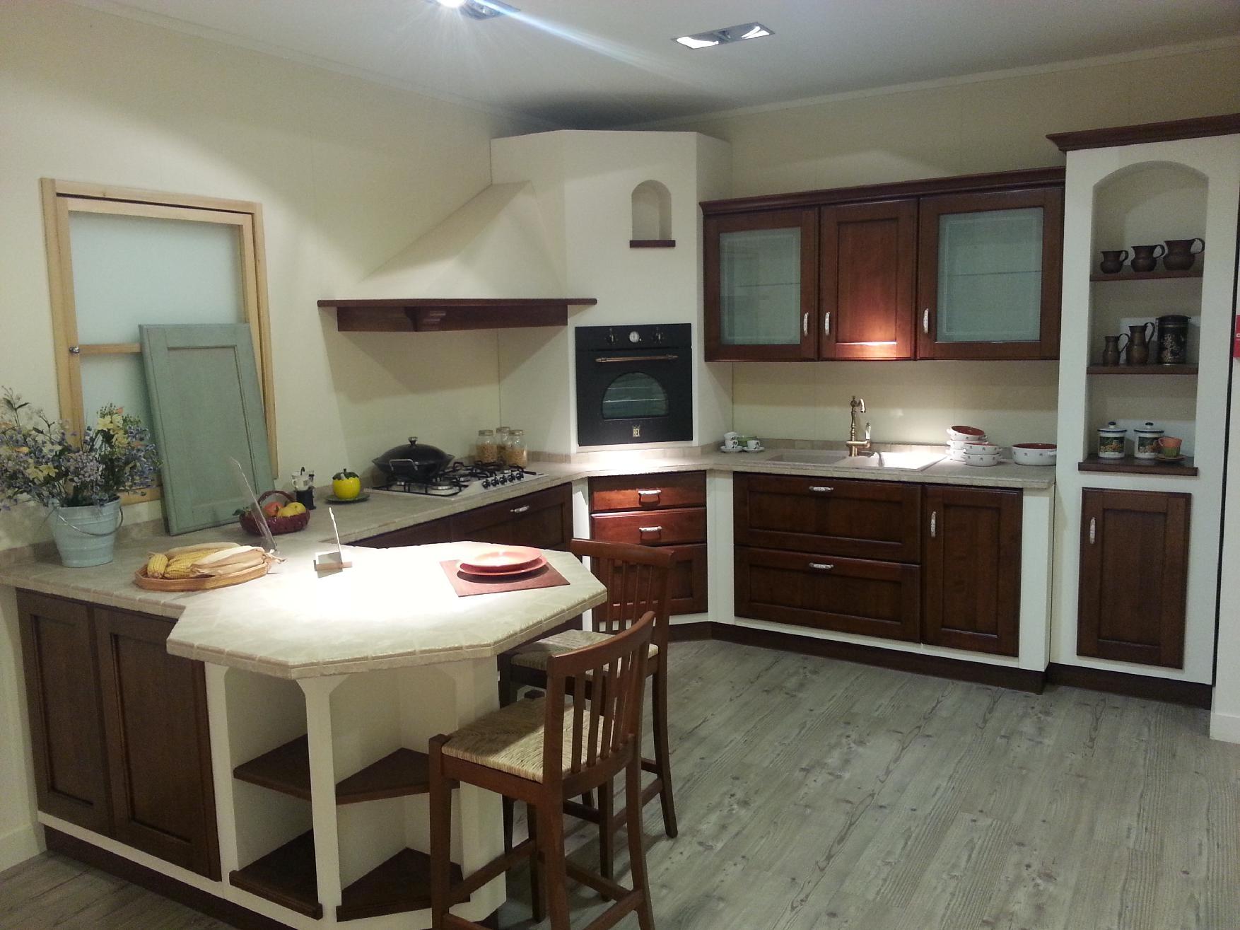 offerta scavolini cora legno 20334 cucine a prezzi scontati