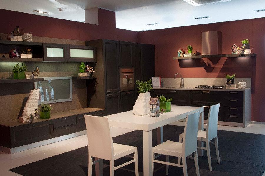 Foto dInsieme Cucina Esprit Angolare con ante Telaio Impiallacciate ...