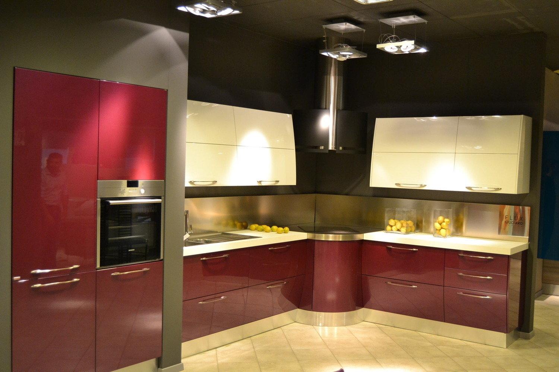 Offerta scavolini flux viola 4380 cucine a prezzi scontati - Cucine faber prezzi ...